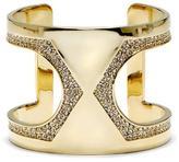 Vince Camuto Cutout Jeweled-trim Cuff