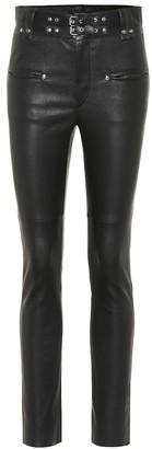 Isabel Marant Keydie skinny leather pants