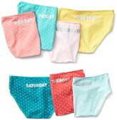 Gap Dotty days-of-the-week bikini briefs (7-pack)
