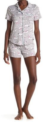 Pj Couture Llama Print 2-Piece Pajama Set