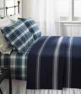L.L. Bean Maine-Made Cotton Blanket, Stripe