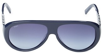Tod's 57MM Aviator Sunglasses