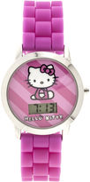 Character Kids Silicone Strap Watch with Molded Head Storage Case