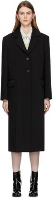 Maison Margiela Black Scuba Bonded Coat