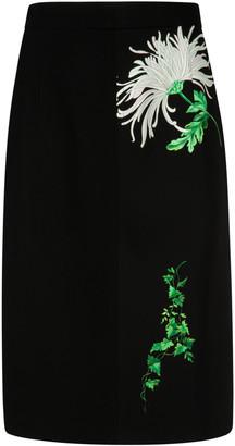 N°21 N.21 Floral Detail Skirt