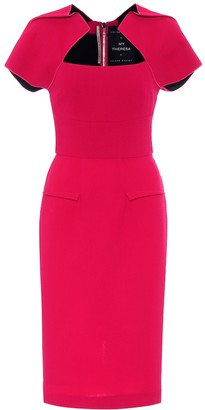 Roland Mouret Exclusive to Mytheresa Myrtha wool-crepe dress