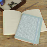 Undercover Recyced Leather Wave A5 Address Book