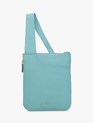 Radley Pocket Bag Leather Medium Cross Body Bag, Aqua