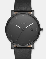 Skagen Hagen Black Analogue Watch