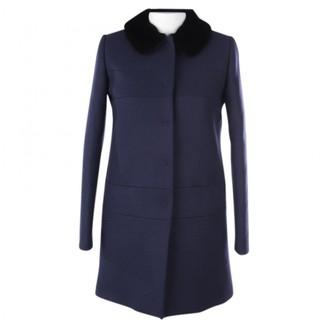 Tara Jarmon Blue Wool Jacket for Women