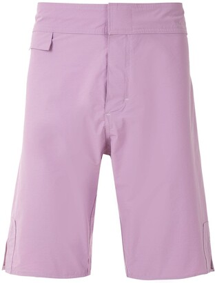 AMIR SLAMA Plain Shorts