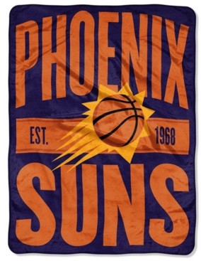 Northwest Company Phoenix Suns Micro Raschel Clear Out Throw Blanket
