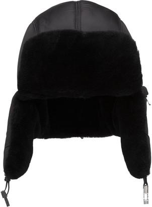 Prada Shearling Hat