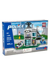 mastermedia Small Police Station Building Block Set