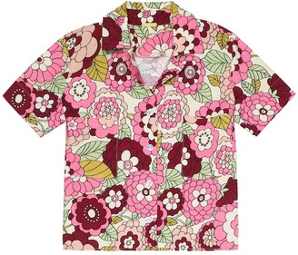 Dodo Bar Or Kids Floral shirt