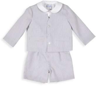 Florence Eiseman Baby Boy's 3-Piece Seersucker Jacket, Shirt & Shorts Set