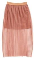 Toddler Girl's Bardot Junior Pleated Tulle Skirt