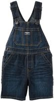 Osh Kosh Baby Boy Whiskered Denim Shortalls