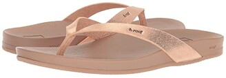 Reef Cushion Court (Rose Gold) Women's Sandals