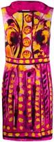 Moschino brushstroke print sleeveless dress