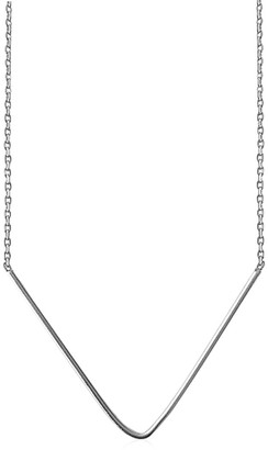 Daixa Somed Uve Necklace - Minimalist Silver