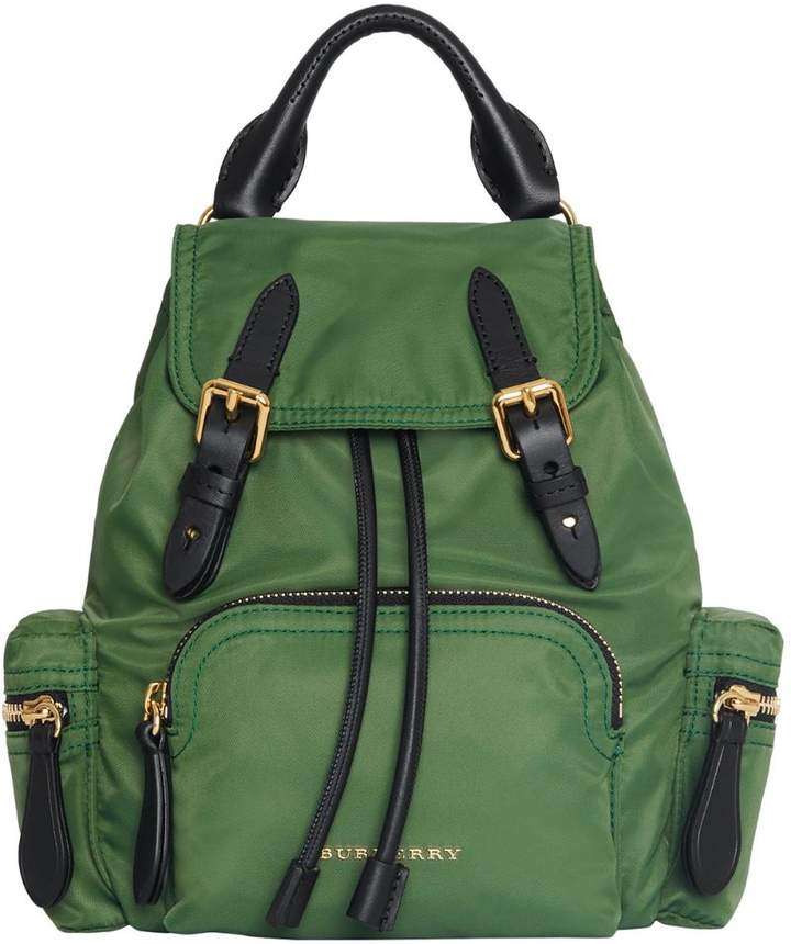 0d02d7624084 Burberry Green Leather Handbags - ShopStyle