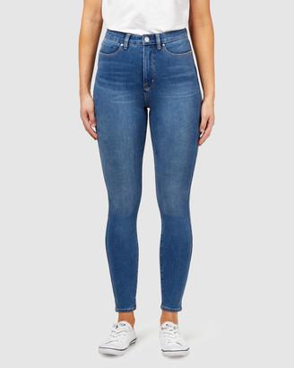 Jeanswest Freeform 360 Contour High Waisted Skinny 7/8 Jeans