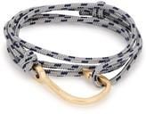 Miansai Grey Hook Wrap Bracelet