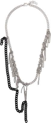 MM6 MAISON MARGIELA knotted chain necklace