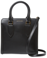 Alexander McQueen Leather Top Handle Satchel