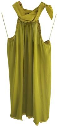 Iceberg Green Silk Dress for Women
