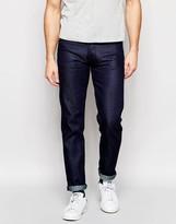 Nudie Jeans Steady Eddie Straight Fit Dry Blue Faith