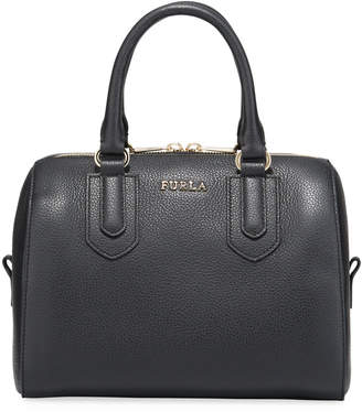 Furla Norah Small Leather Satchel Bag