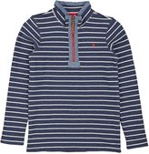 Joules Junior Dales Boys Half Zip Sweatshirt