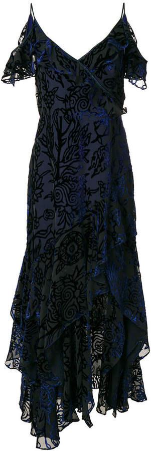 Peter Pilotto Devore velvet gown