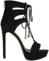 Lipstik Narrow Black Sandal
