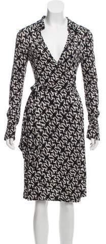 5458ada17fdaa Diane Von Furstenberg Jeanne Wrap Dress - ShopStyle