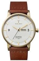Triwa 'Klinga' Leather Strap Watch, 38Mm