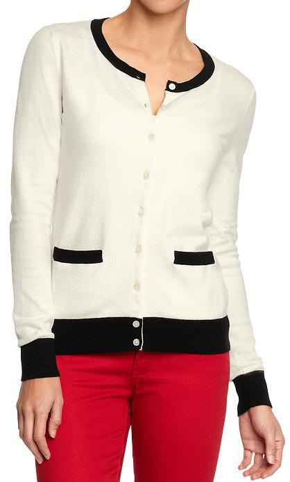 Old Navy Women's Button-Front Stretch Cardis
