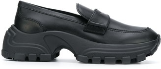 Miu Miu chunky sole penny loafers