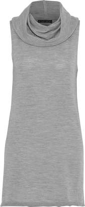 Alice + Olivia Sharron Wool And Cashmere-blend Top