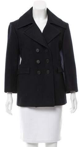 Celine Wool Double-Breasted Coat