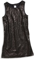 GUESS Sequin Tank Dress (7-16)