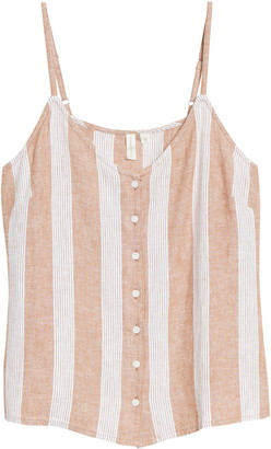 Treasure & Bond Button Front Camisole