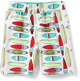 Old Navy Surfboard-Print Swim Trunks for Toddler