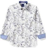 Tommy Bahama Long-Sleeve Paulo Paisley Print Woven Shirt