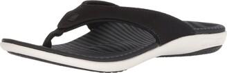 Spenco Women's Yumi Canvas Stripe Sandal