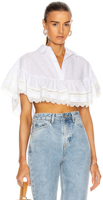 Alexis Casimir Top in White | FWRD