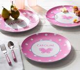 Pottery Barn Kids Pink Dot Plates
