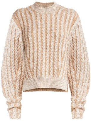 Chloé Cable-Knit Sweater